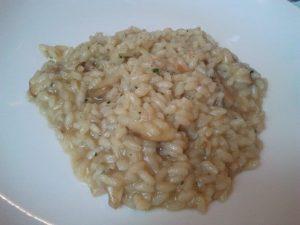 risotto italiano con funghi porcini