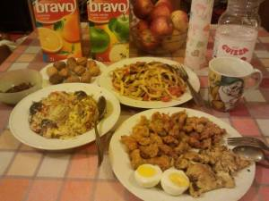 CNY's Eve dinner