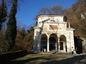 One of the Chapels in Varese's Sacred Mountain