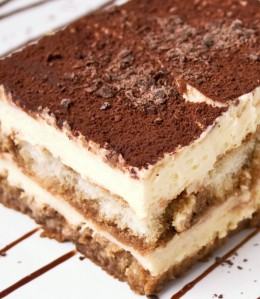 Tiramisu - pic is courtesy of Honest Kitchen