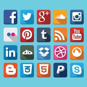 Social Media Icons, pic was taken from www.vandelaydesign.com
