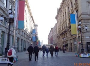 Around Duomo area to Via Dante in Cordusio, Milan