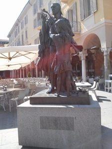 Monument of Antonio Stradivari in Cremona