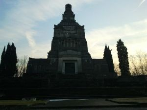 The Cemetery of Crespi D'Adda