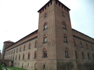Ex-Visconti Castle that is now Civic Museums