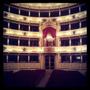 Inside Ponchielli Theatre