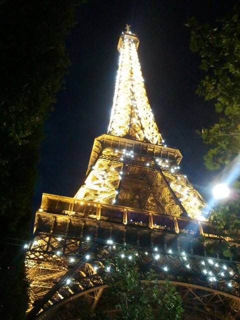 Eiffel in the night