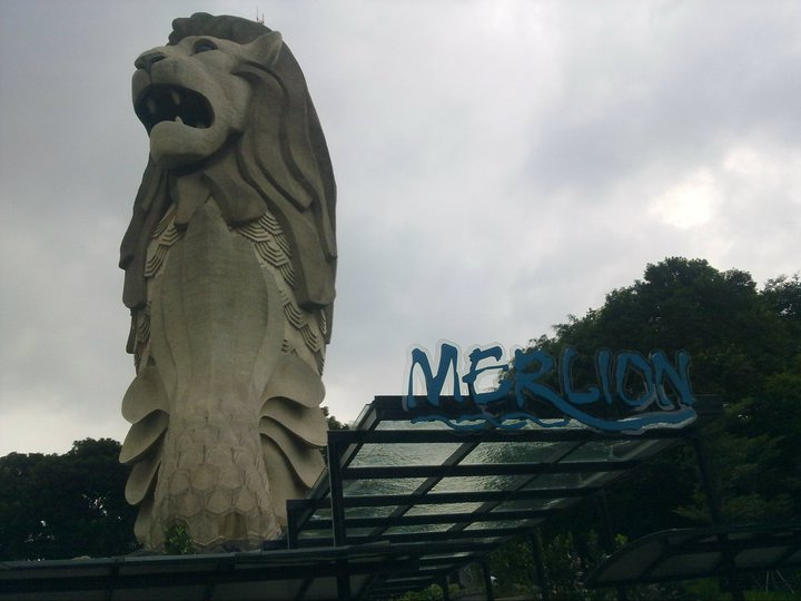 Sentosa merlion