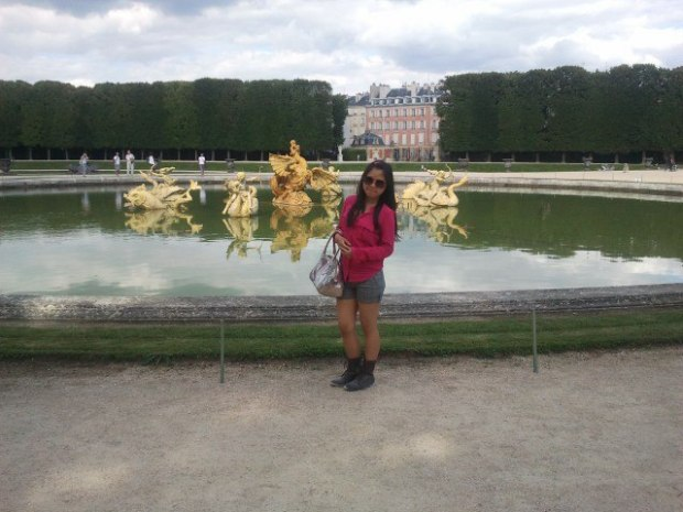 At Castle of Versailles