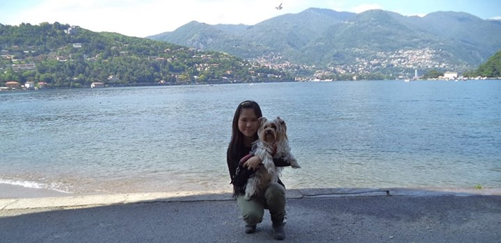 Me with BEI at Lake Como