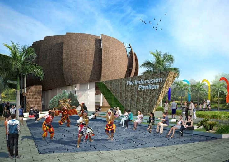 Best Stands Expo Milano : Pavilion of indonesia at the next universal expo in