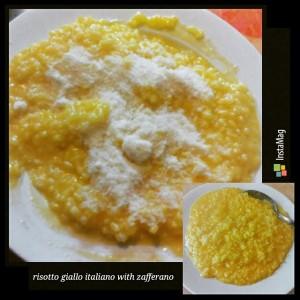 risotto giallo zafferano