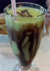 Avocado Juice with Chocolate