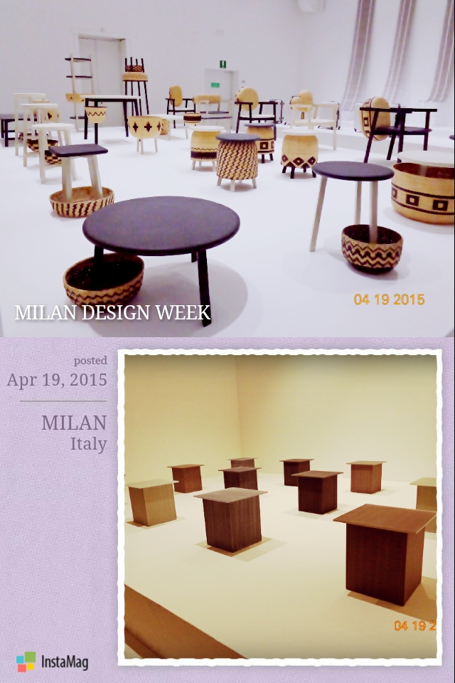 Some design examples of Japanese furnitures