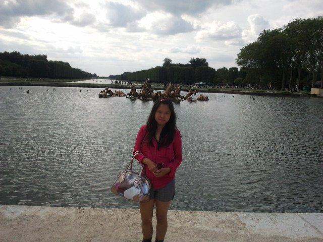 at Versailles Garden