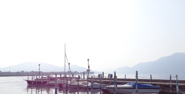 Lake Iseo on a Sunny Day