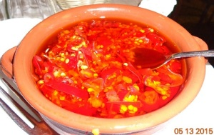 Special homemade Chilli Sauce