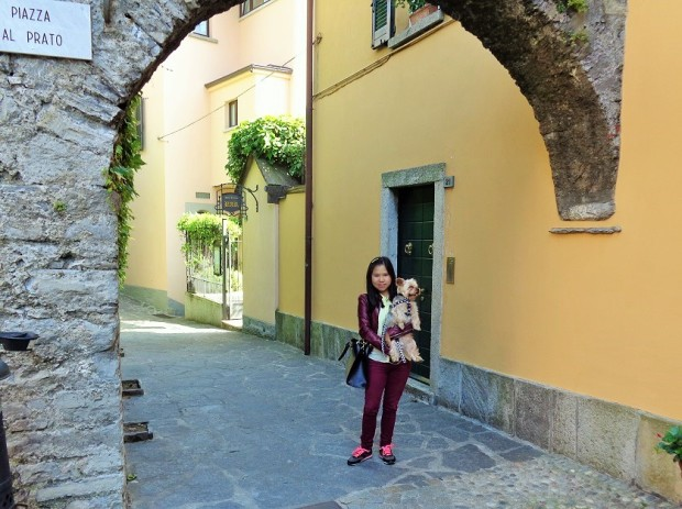 Entering the old town part