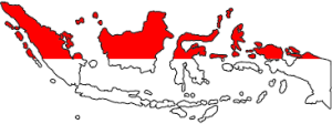Indonesian Map - Taken from Google Search