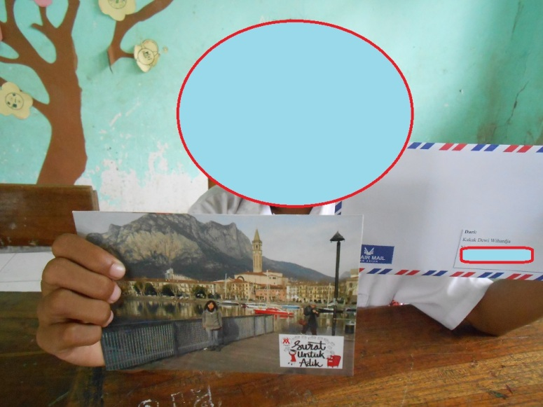 My letter arrived :)