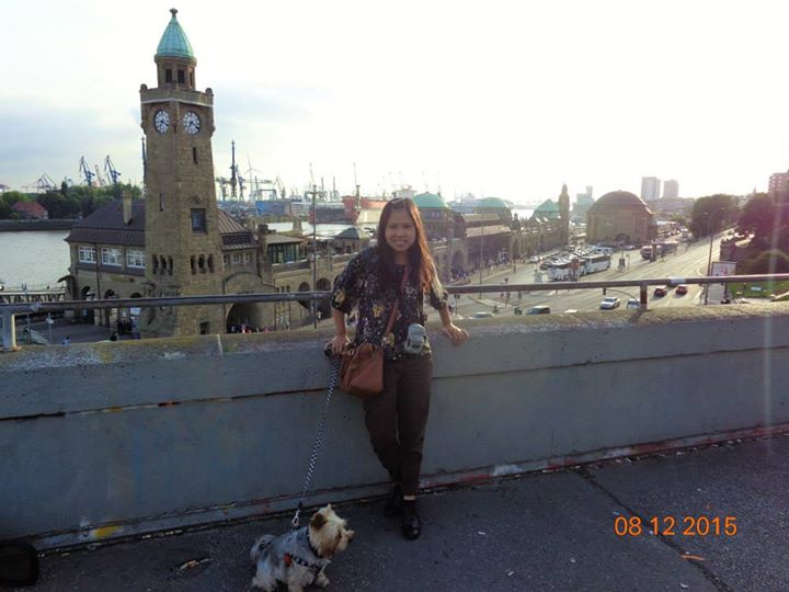 At the Port of Hamburg
