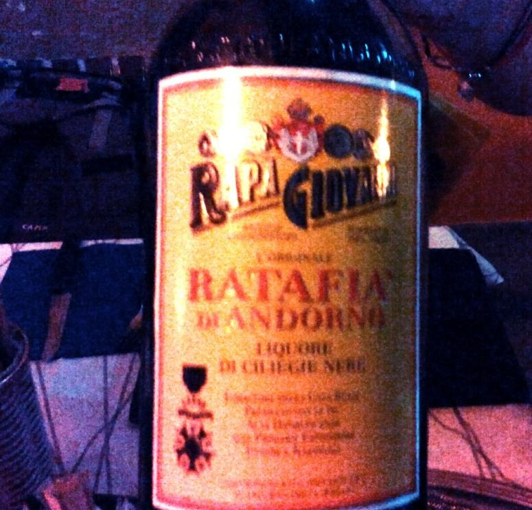 Ratafia with Cherry flavor